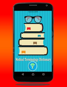 Medical Terminology Dictionary poster