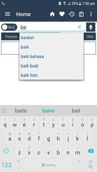 English Malay Dictionary apk screenshot