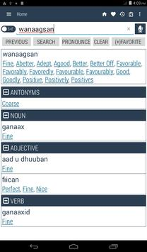 English Somali Dictionary screenshot 17