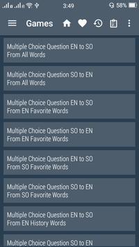 English Somali Dictionary screenshot 5