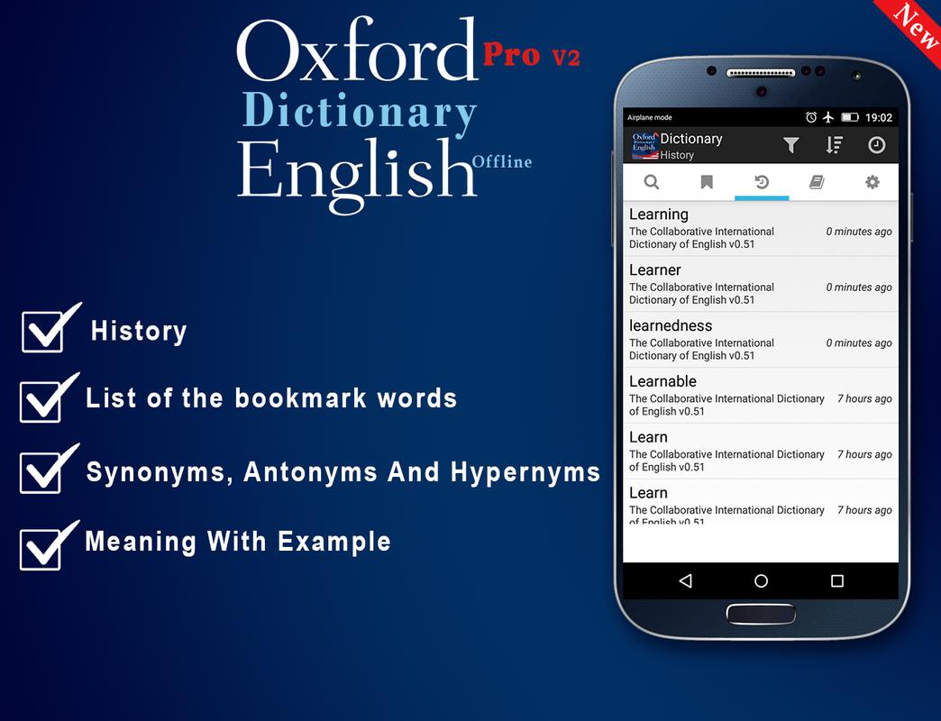 Oxford dictionary of english premium offline apk with data download.