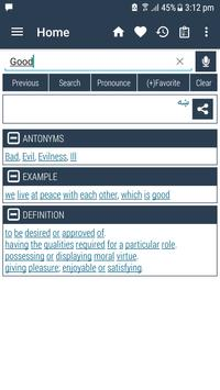 English Pashto Dictionary captura de pantalla 16