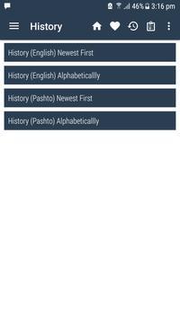 English Pashto Dictionary captura de pantalla 7