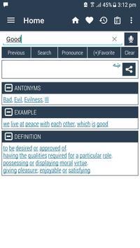 English Pashto Dictionary captura de pantalla 8