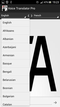 Voice Translator Pro apk screenshot