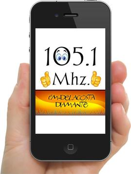 FM DIAMANTE 105.1 poster