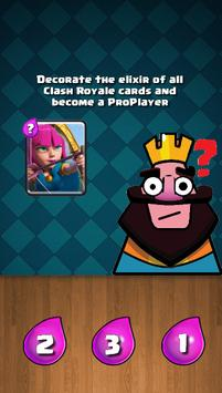 Decorate the Elixir of Cards of the Clash Royale apk screenshot
