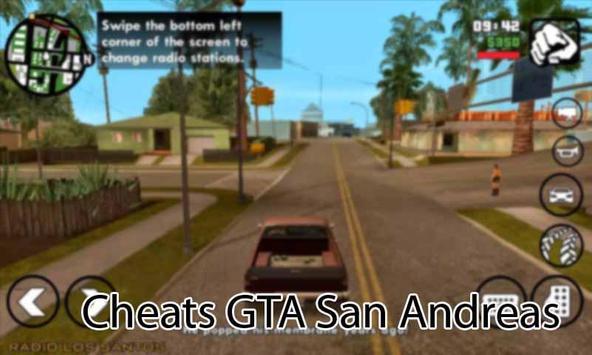 Cheats GTA San Andreas Pro poster