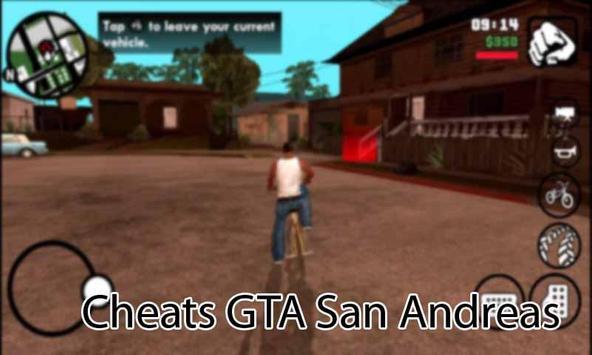Cheats GTA San Andreas Pro apk screenshot