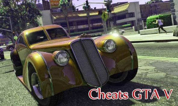 Cheats GTA V poster