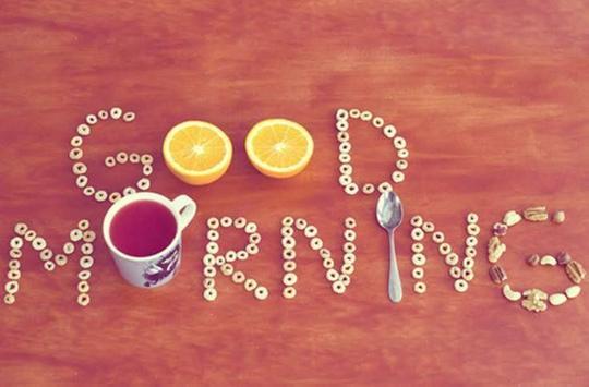 Good Morning Wake up poster