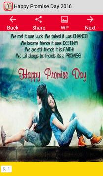 Promise Day 2016 poster