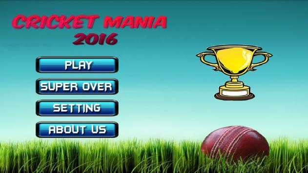 Cricket Mania 2017 poster