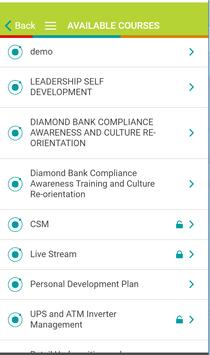 Diamond mLearn screenshot 2