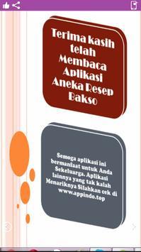 Aneka Resep Bakso screenshot 1