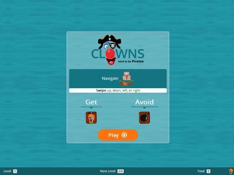 Clowns Want To Be Pirates screenshot 4