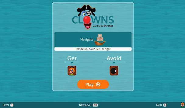 Clowns Want To Be Pirates screenshot 5