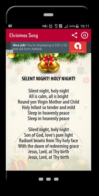 popular christmas songs apk screenshot - Popular Christmas Songs