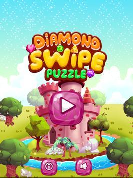 Diamond Swipe Puzzle poster