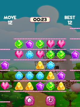 Diamond Swipe Puzzle screenshot 1