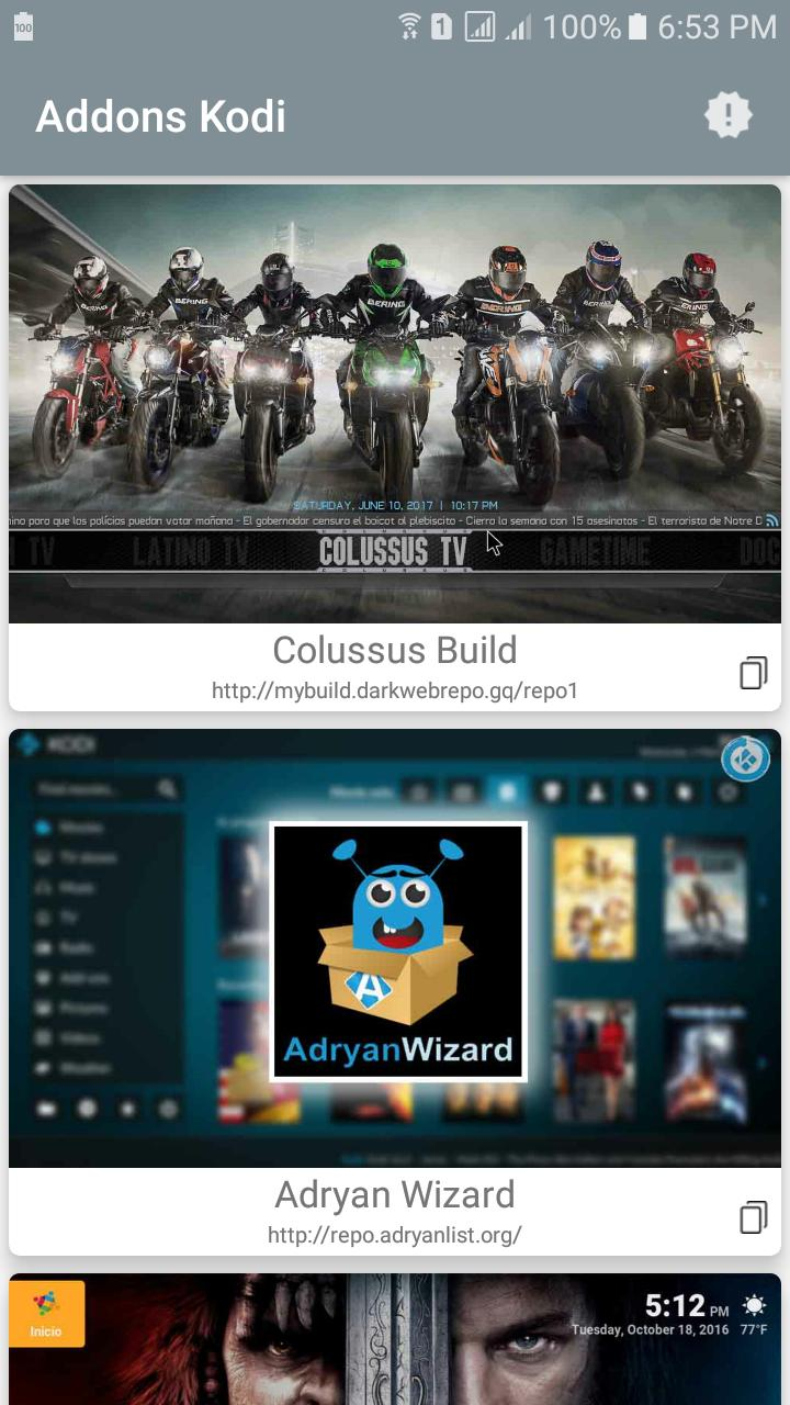 Addons for Kodi for Android - APK Download
