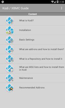 Kodi / XBMC Guide poster