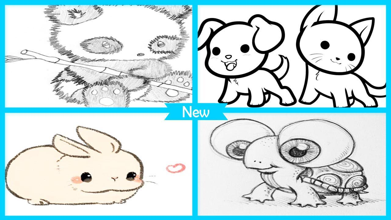 Mudah Menggambar Binatang Lucu For Android APK Download