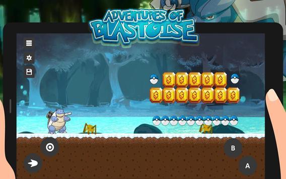 Mega Blastoise: Adventure Run poster