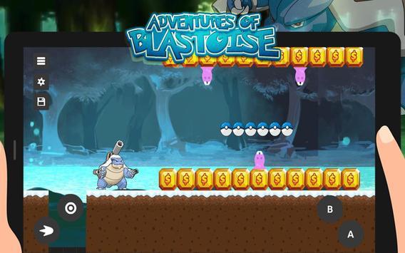 Mega Blastoise: Adventure Run apk screenshot