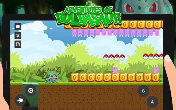 Super Bulbasaur: Adventure Game poster