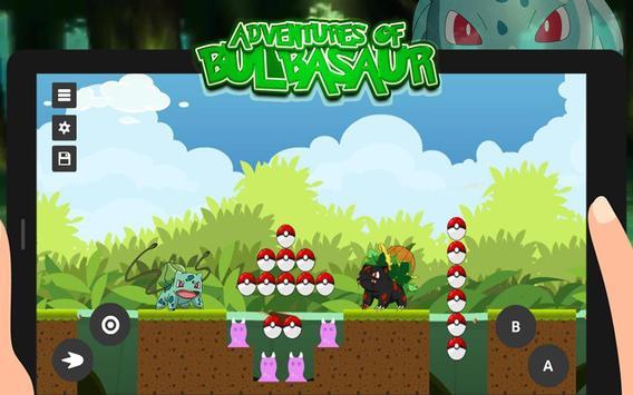 Super Bulbasaur: Adventure Game apk screenshot