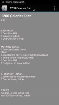 Diabetes Diet Charts poster