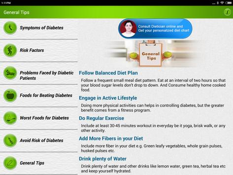 Diabetes Care Diet & Nutrition screenshot 11