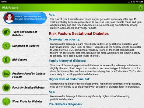 Diabetes Care Diet & Nutrition screenshot 13