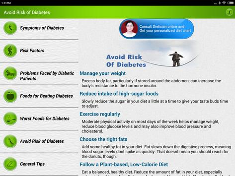 Diabetes Care Diet & Nutrition screenshot 14