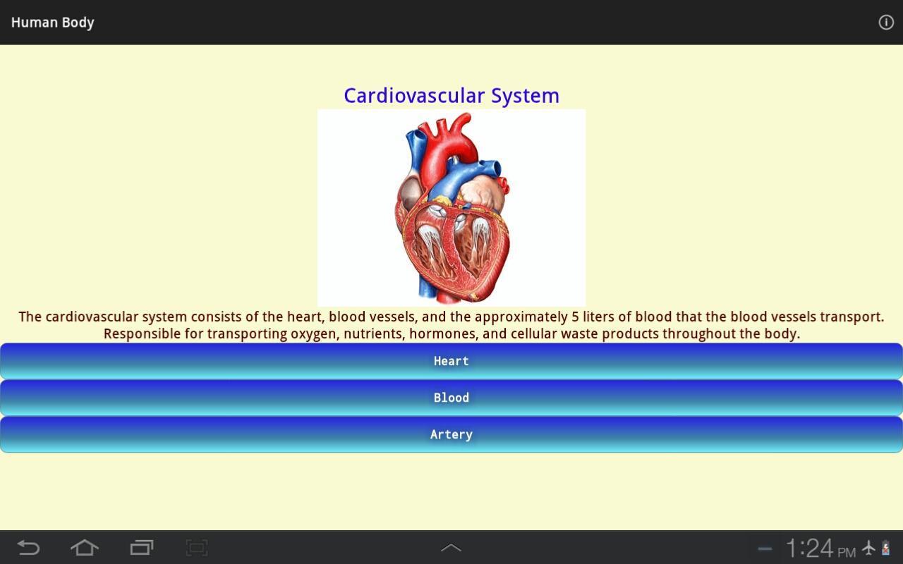 Cuerpo Humano - Anatomía Descarga APK - Gratis Educación Aplicación ...