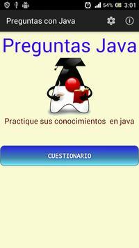 Preguntas con Java poster