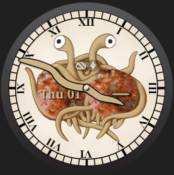 FSM Android Wear Watch Face poster