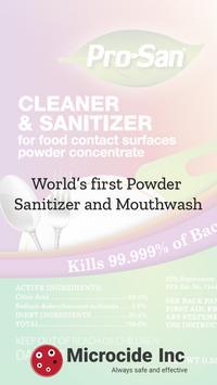 Microcide  -  Fruits and Vegetables Sanitizer apk screenshot