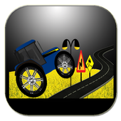 Hop Tractors Run Game icon
