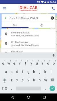Dial Car & Limo apk screenshot