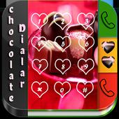 Chocolate Dialer Theme icon