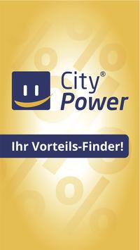 CityPower mobil poster