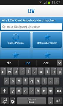 LEW Card App apk screenshot