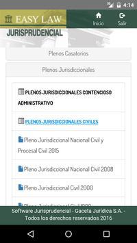Easy Law Jurisprudencial apk screenshot