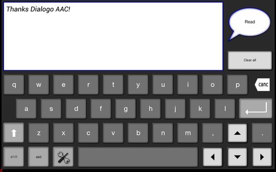 Dialogo AAC Lite - Autism apk screenshot