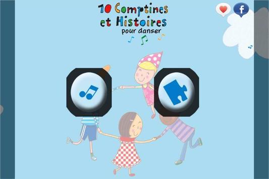 10 Comptines pour danser poster