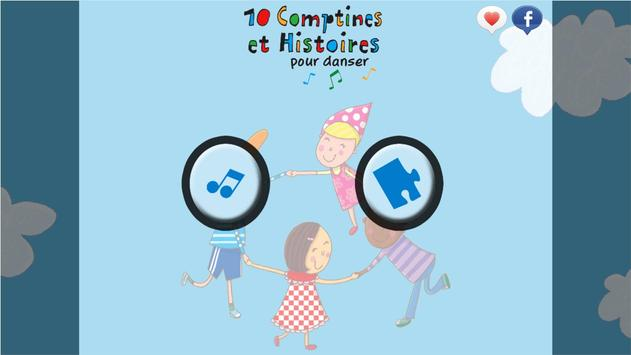 10 Comptines pour danser apk screenshot