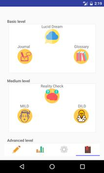 Dream Journal (Lucid Dream) apk screenshot