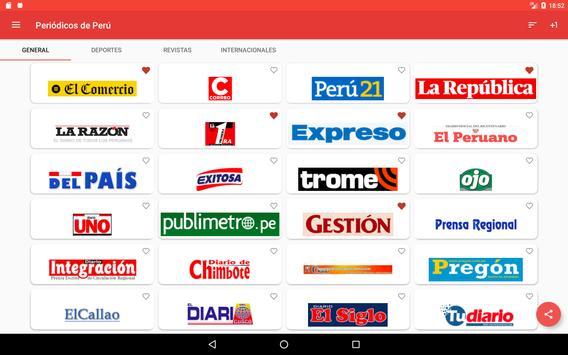 Periódicos Peruanos syot layar 14